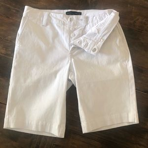 Sanctuary Anthropologie Bermuda White Shor…